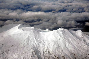 Flyover of Mount Ruapehu. Photo / File