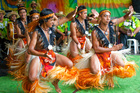 Anuanua Dance Group will perform at Pasifika this year. Photo / Supplied