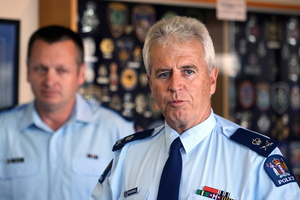 Police Commissioner Peter Marshall. Photo / APN