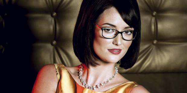 Bec Hughes, winner of Specsavers' Spectacle Wearer of the Year competition. Photo / Blue Murder Studios