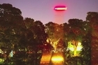 Actor Russell Crowe say he's caught a UFO on camera. The Gladiator actor said he captured what appears to be several flying objects whizzing over Sydney's Botanical Gardens. Courtesy: YouTube/ParallelUniverse1234