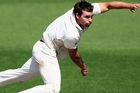 New Zealand manager Mike Sandle, who only arrived in Dunedin today ahead of the first test against England starting on Wednesday, said Bracewell would undergo a fitness test tomorrow.
