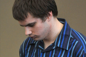 Michael Chilcott awaits sentence for attacking a young woman in her Dunedin flat last November.  Photo / Otago Daily Times