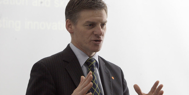 Bill English has confirmed Mighty River will have a secondary listing on the Australian Stock Exchange. Photo / Rotorua Daily Post