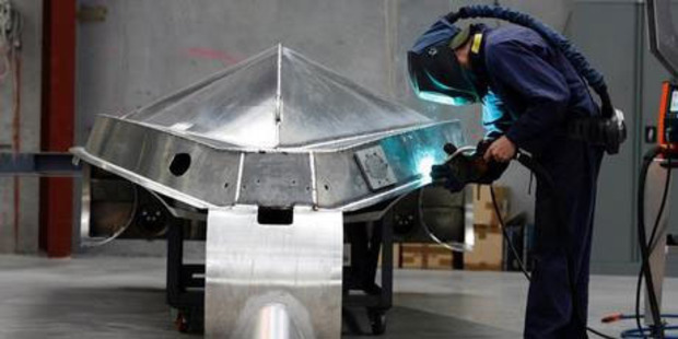 Manufacturing volumes grew in the last quarter of 2012. Photo / NZ Herald
