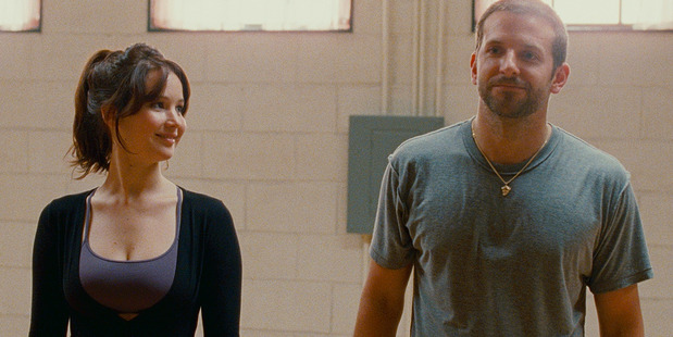 Bradley Cooper and Jennifer Lawrence in Silver Linings Playbook. Photo/supplied