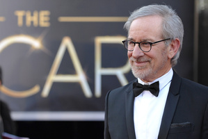 Steven Spielberg at the Oscars. Photo/AP