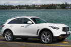 Infiniti FX50S, photographed in Takapuna for Driven Magazine. 06 March 2013 NZ Herald photo by Ted Baghurst.