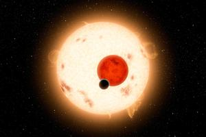 Kepler-16b is the first discovery of a planet that orbits two stars. Photo / Getty Images