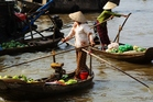 Working women in the waterways of Vietnam. Photo / Thinkstock