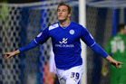 Chris Wood has proven an astute acquisition for Leicester City, scoring nine goals in his first 11 games Photo / Paul Gilham