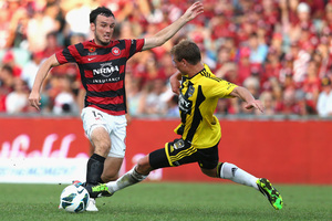 Wellington came in to the game without striker Stein Huysegems. Photo / Getty Images