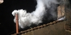 Watch: Raw: White smoke signals new Pope 
