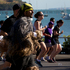 Over 40,000 people ran in Auckland's Round The Bays running event in hot weather yesterday. The 8.4km run or walk started at Quay St, headed along Tamaki Drive and finished in St Heliers. Photo / NZ Herald