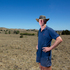 Waikato farmer Peter Brown, on his Ohinewai dairy farm, Waikato, which has been hit hard by the drought. Photo / Brett Phibbs