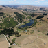 Drought, hot weather, dry countryside is seen at Lake Lopez, Waimarama Rd, Havelock North. Photo / Duncan Brown