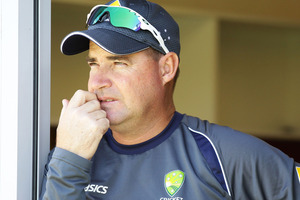Australian coach Mickey Arthur.. Photo / Getty Images.