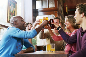 Beer sales have dropped from 181 litres per adult in 1973, to 79 litres last year - the lowest level of beer sales since World War II. Photo / Thinkstock