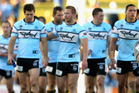 Damian Irvine has quit his post as chairman of embattled Cronulla amid the anti-doping investigation centred on the NRL club. Photo / Getty Images.