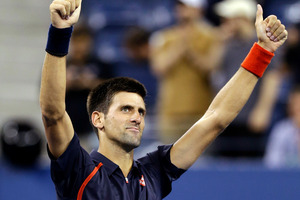 Novak Djokovic is safely through to the last 16 at the Indian Wells tennis Masters in California. Photo / Getty Images.