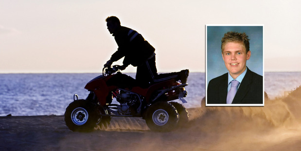 Families are concerned at the number of young tourists dying or getting injured in workplaces, farms, and in adventure tourism. Inset: Quadbike crash victim Tom Sewell. Photo / Thinkstock