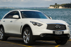 The Infiniti FX50S oozes style on the exterior and in its many interior features.Photo / Ted Baghurst