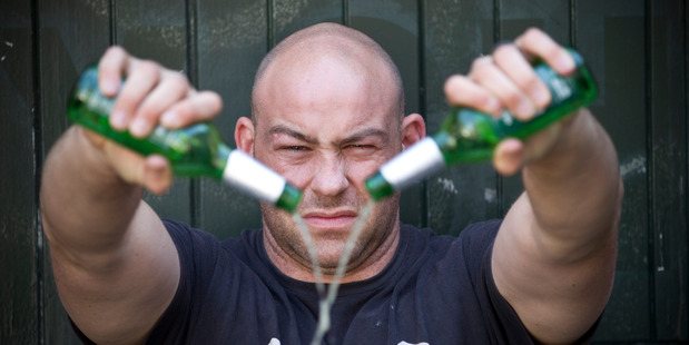 Shane Kenny has never drunk beer and never will. Photo / Michael Craig
