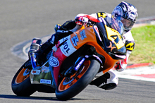 After winning at Teretonga, John Ross is in a commanding position for the championship. Pictures / Andy McGechan, bikesportnz.com