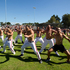 Black Sox perform a haka after their win. Photo / Brett Phibbs