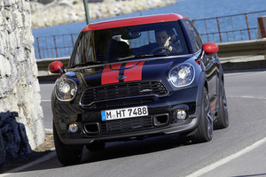 The manual Mini JCW Paceman sprints to 100km/h in 6.9s. Photo / Supplied