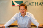 Cathay Pacific's Rupert Hogg says it is code-sharing with Air NZ to grow frequency on the Auckland-Hong Kong route. Photo / Greg Bowker