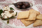 Home-made crackers. Photo / Jason Burgess