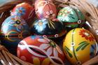 Pisanki - Polish decorated Easter eggs. Photo / Danielle Wright