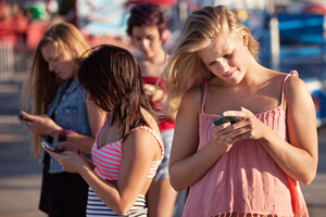 Today's teens have a wide range of ways to communicate. Photo / Getty Images