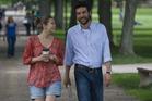 Elizabeth Olsen and Josh Radnor in the movie 'Liberal Arts'. Photo / Supplied