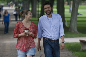 Elizabeth Olsen and Josh Radnor have an odd college romance in Liberal Arts. Photo / Supplied