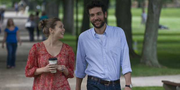 Elizabeth Olsen and Josh Radnor in the movie 'Liberal Arts'. Photo / Supplied