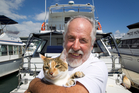 Ray Silver says he won't be able to keep Molly off the boat. Photo / Richard Robinson