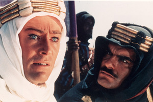 Peter O'Toole and Omar Sharif in Lawrence of Arabia. Photo / Supplied