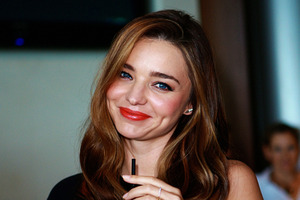 Miranda Kerr has been injured in a car accident.Photo / Norrie Montgomery