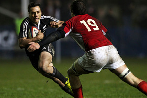 Tim Bateman and the Maori All Blacks beat Canada in England last year. Photo / Getty Images