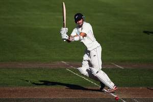 New Zealand lost a potential 93 overs in the Dunedin test due to rain.  Photo / Getty Images