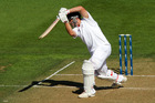 Jonathan Trott is England's glue, going about his business in an unfussy way. Photo / Getty Images
