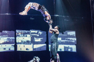 Circolombia's cast are all from the world's first professional circus school for disadvantaged youth. Photo / Supplied