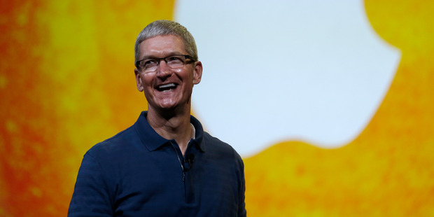 Apple CEO Tim Cook. Photo / AP