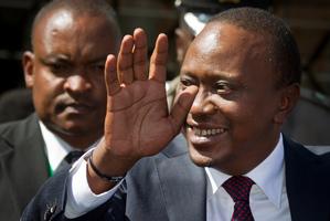 Kenya's President-Elect Uhuru Kenyatta is facing charges at the international criminal court. Photo / AP