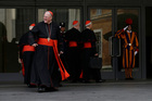 In his surprise resignation address to the cardinals, Benedict said that after much prayer and consideration he was doing it for the good of the church. Photo / AP