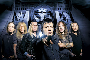 Iron Maiden have paid tribute to their former drummer. Photo / Supplied