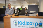 Kidicorp chief financial officer Bruce Woodward has the backing of the company's owner, despite convictions for perjury and tax evasion. Photo /  Bay of Plenty Times