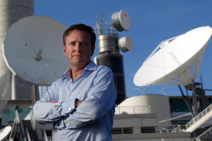 Kevin Kenrick, chief executive of TVNZ in Auckland. Photo / Richard Robinson